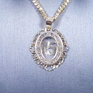 Jewelry - 10KT Solid Gold Quinceanera Pendant